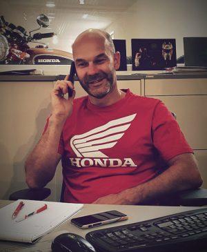 Inhaber Jonny Vesely Motorradhaus Zehren