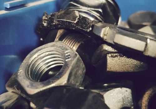 Honda Motorrad Teile Muttern und Schrauben